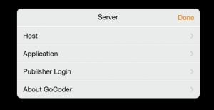 nastavenie servera